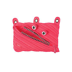 Zipit Grillz 3 Ring Pouch Pink