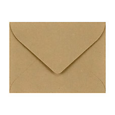 LUX Mini Envelopes With Flap Closure
