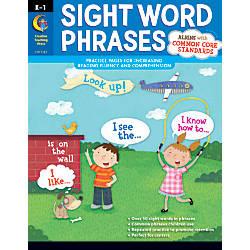 Creative Teaching Press Sight Word Phrases