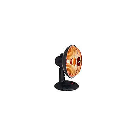 "Optimus 9"" Dish Heater - Electric - 300 W - 30 Sq. ft. Coverage Area - 300 W - 2.50 A - Portable - Black"