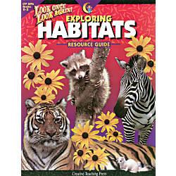 Creative Teaching Press Exploring Habitats Resource