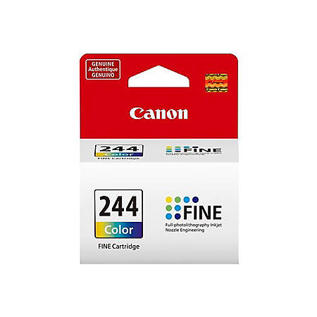 Canon CL-244 - Color (cyan, magenta, yellow) - original - ink cartridge - for PIXMA MG2522, MG2525, MG3020, TR4520, TR4527, TS202, TS302, TS3120, TS3122