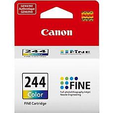 Canon CL 244 Color cyan magenta