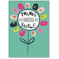 Viabella Thank You Greeting Card Thanks