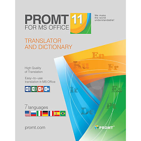 PROMT for MS Office, Download Version