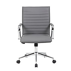 Boss Office Products Sleek Ribbed Vinyl