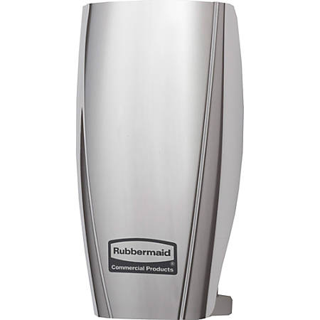 Rubbermaid Commercial TCell Air Fragrance Dispenser - 90 Day(s) Refill Life - 44883.12 gal Coverage - 12 / Carton - Chrome