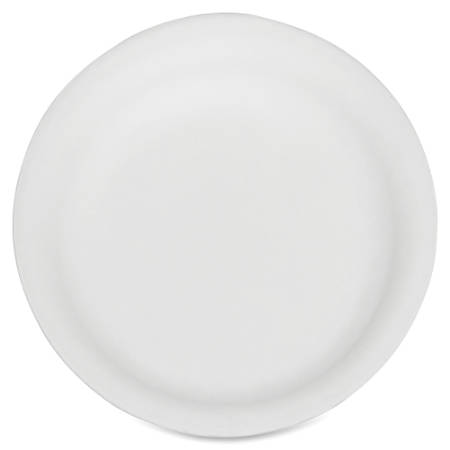 """SKILCRAFT® Disposable Paper Plates, 9"""", White, Pack Of 500 (AbilityOne 7350-00-290-0594)"""