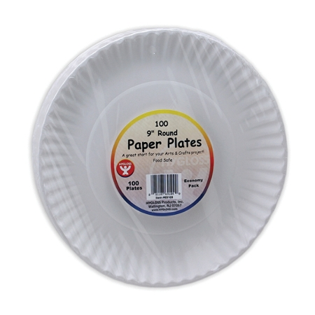 Hygloss Paper Plates, Pack Of 100