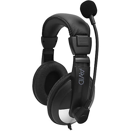 Avid Education SMB-25VC Headset - Stereo - Mini-phone - Wired - 32 Ohm - 20 Hz - 20 kHz - Over-the-head - Binaural - Circumaural - 6 ft Cable - Noise Canceling - Black