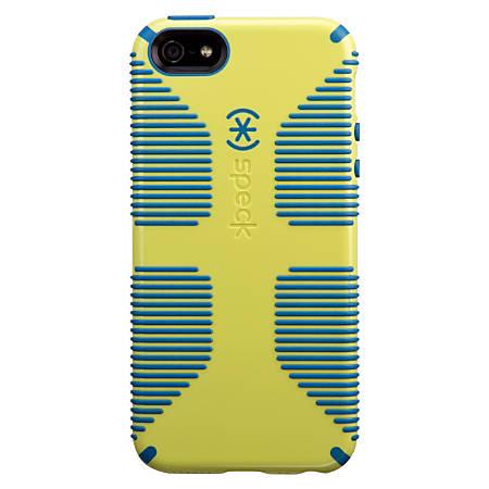 Speck® CandyShell™ Grip Case For Apple® iPhone® 5/5s, Lemongrass Yellow/Harbor Blue