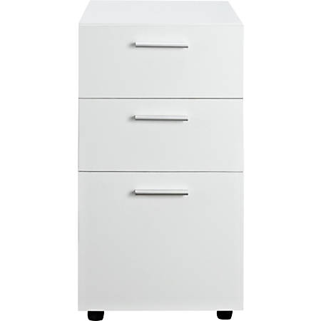 Ameriwood™ Home Princeton Letter-Size Mobile File Cabinet, 3 Drawers, White