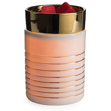 "Candle Warmers Etc Illumination Fragrance Warmers, 8-13/16"" x 5-13/16"", Serenity, Case Of 6 Warmers"