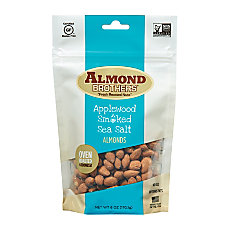 Almond Brothers Applewood Smoked Sea Salt