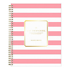 Day Designer Academic DailyMonthly New Pink