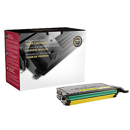 Clover Imaging Group Remanufactured Toner Cartridge, Yellow, 200680P (Samsung CLT-Y609S)