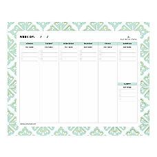 Day Designer Lovely Morning Planning Pad