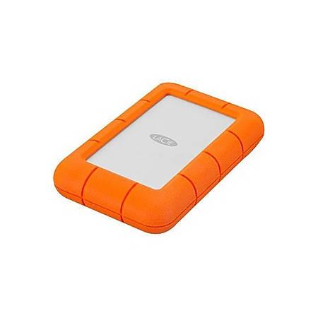 LaCie Rugged Mini  4TB Portable External Hard Drive, LAC9000633, Orange