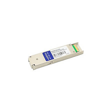 AddOn MSA and TAA Compliant 10GBase-BX XFP Transceiver (SMF, 1270nmTx/1330nmRx, 10km, LC, DOM)