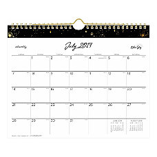 Noteworthy Academic Monthly Wall Calendar 11
