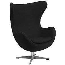 Flash Furniture Fabric Swivel Egg Chair