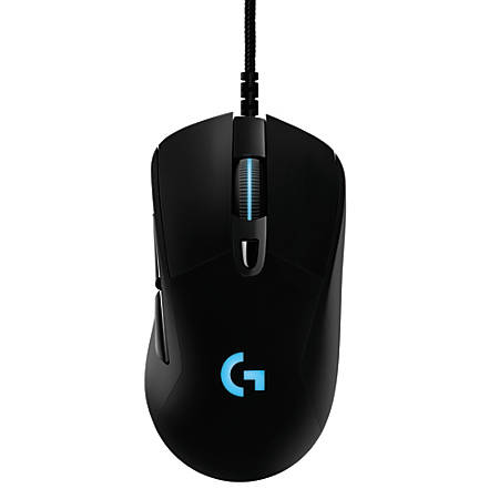 Logitech® G403 Prodigy Gaming Mouse, Black/Blue Item # 860822