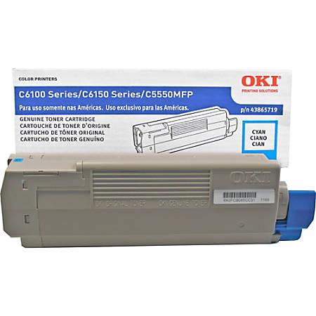 OKI® 43865719 Cyan Toner Cartridge