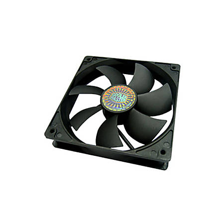 Cooler Master Sleeve Bearing 120mm Silent Fan for Computer Cases, CPU Coolers, and Radiators (Value 4-Pack) - Value 4-Pack, 120x120x25 mm, ~ 1200 RPM speed, ~ 44.7 CFM air flow, ~ 19 dBA noise level, 30,000 hour lifespan, Sleeve Bearing