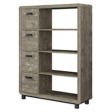 Ameriwood Home Eastlin 4 Shelf Bookcase