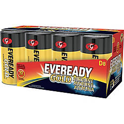 Eveready Gold Alkaline D Batteries D
