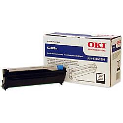 OKI 43460204 Black Drum Unit
