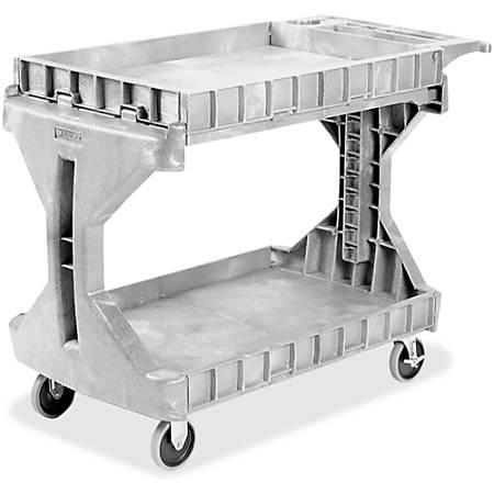 Akro-Mils ProCart Utility Cart, 400 Lb. Capacity, Gray
