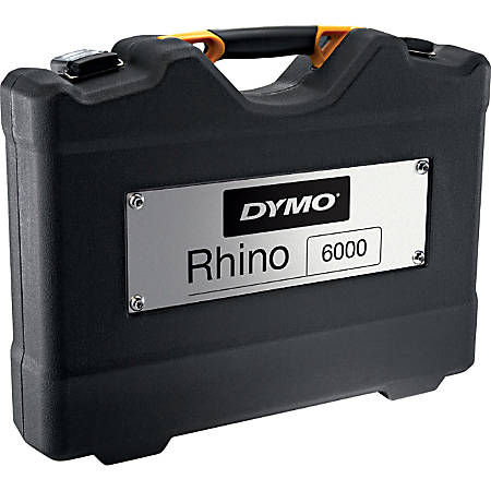 Dymo Carrying Case Label Printer - Black - Carrying Strap