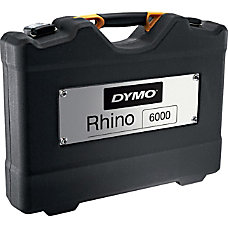 Dymo Carrying Case Label Printer Black