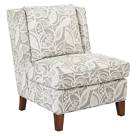 Ave Six Marseilles Chair, Field Charcoal/Coffee