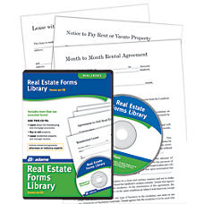 Adams Real Estate Forms Library