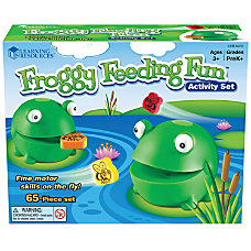 Learning Resources Froggy Feeding Fun Set