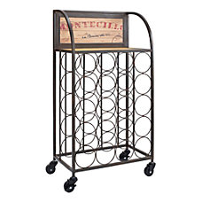 Linon Rhonda Wine Rack 31 14