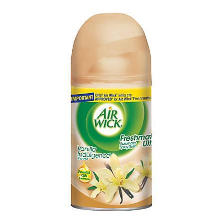 Air Wick® Freshmatic Automatic Spray Air Freshener Refill, Vanilla Indulgence Scent, 6.17 Oz.