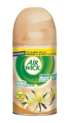 Air Wick® Freshmatic Automatic Spray Air Freshener Refill, Vanilla Indulgence Scent, 6.17 Oz. Item # 861860