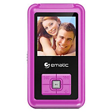 Ematic EM208VID 8 GB Pink Flash