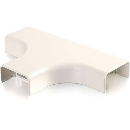 C2G Wiremold Uniduct 2900 Bend Radius Compliant Tee - Fog White - Fog White - Polyvinyl Chloride (PVC)