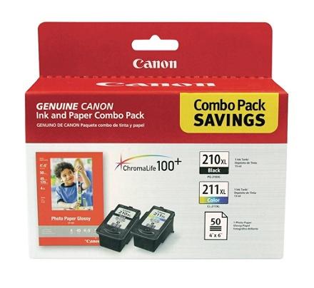 4 PK Ink Cartridge For Canon PG-210XL CL-211XL Black/&Color PIXMA IP2700 MX350