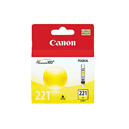 Canon CLI-221Y ChromaLife 100+ Yellow Ink Tank (2949B001)
