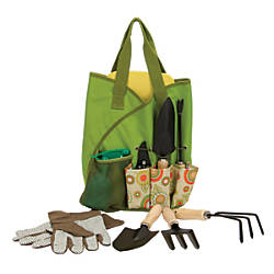 Orbit 10 Piece Garden Tote Set