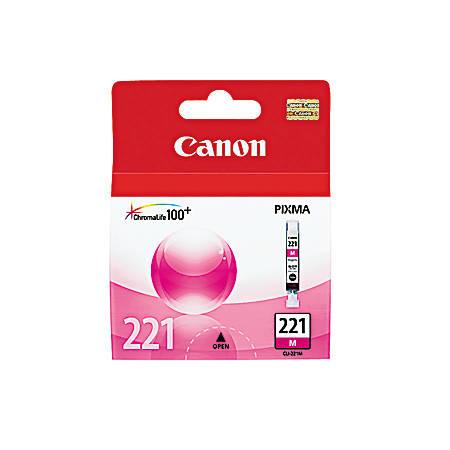 Canon CLI-221M ChromaLife 100+ Magenta Ink Tank (2948B001)
