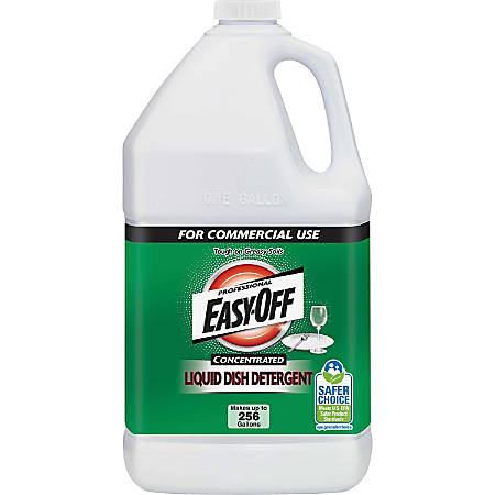 Easy-Off EasyOff Liquid Dish Detergent - Liquid - 1 gal (128 fl oz) - Bottle - 1 / Each - Blue