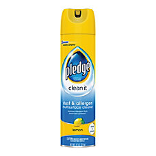 Pledge Dust And Allergen Furniture Spray