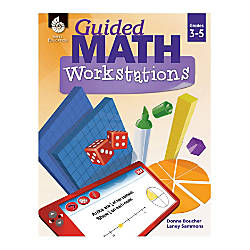 Shell Education Guided Math Workbook Grades