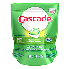 Cascade ActionPacs Dishwasher Detergent Pods Fresh